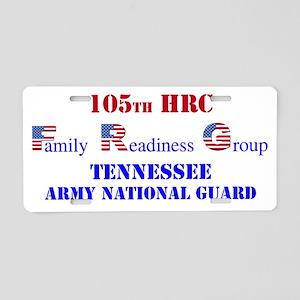 105 FRG Logo Aluminum License Plate