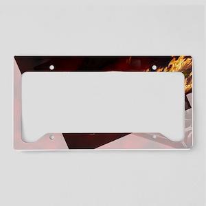 Abstract GTR License Plate Holder