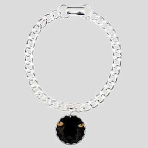 Sexy Black Cat Charm Bracelet, One Charm
