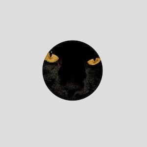 Sexy Black Cat Mini Button
