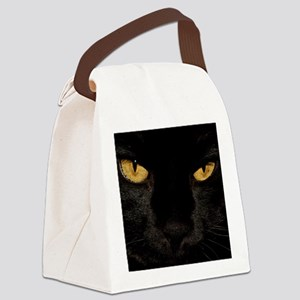 Sexy Black Cat Canvas Lunch Bag