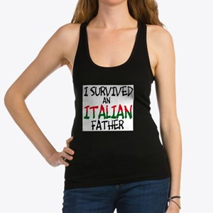 survived-italian-father-flat.psd Tank Top