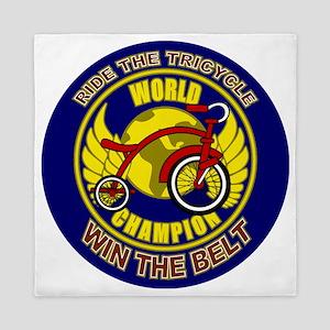 Ride The Tricycle Win Belt Queen Duvet