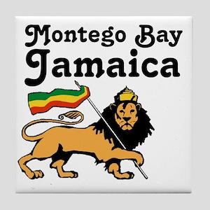 Montego Bay, Jamaica Tile Coaster