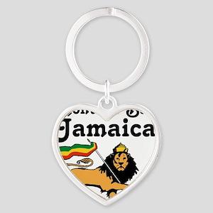 Montego Bay, Jamaica Heart Keychain