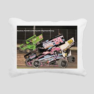 January Rectangular Canvas Pillow