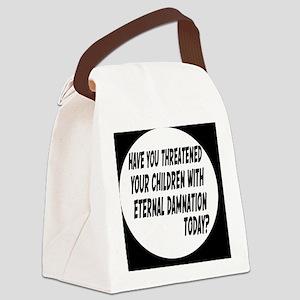 damnationbutton Canvas Lunch Bag