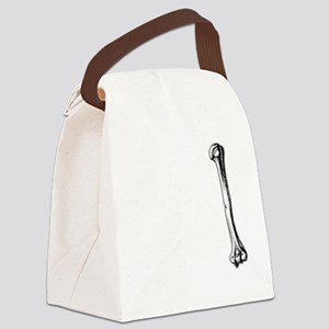 I Find This Humerus: Canvas Lunch Bag