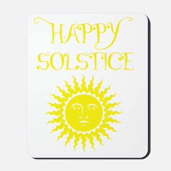 Happy Solstice Mousepad