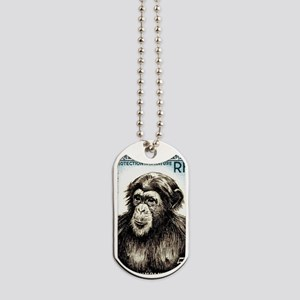 1955 French West Africa Chimp Postage Sta Dog Tags