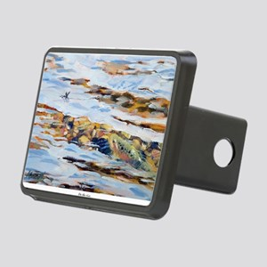 On the rise Rectangular Hitch Cover