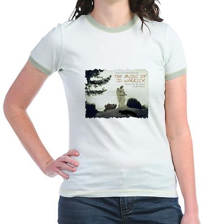 Music of JD Warrick - Woman's Ringer T-shirt