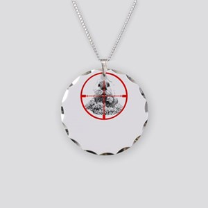Varmint Poontang Necklace Circle Charm