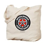 Speed Demon - Racing Rim Tote Bag