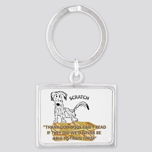 BACK TO SCHOOL WITH SCRATCH Landscape Keychain