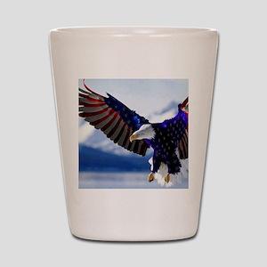 All American Eagle Shot Glass