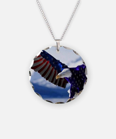 All American Eagle Necklace