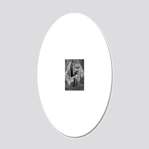 34 20x12 Oval Wall Decal