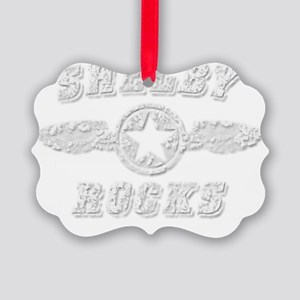 SHELBY ROCKS Picture Ornament