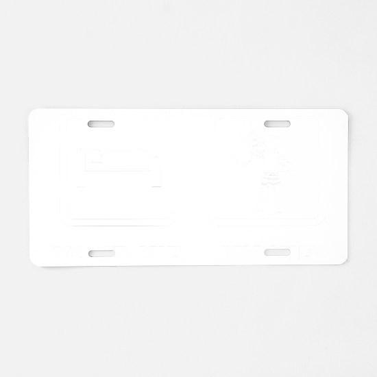 Bagpiper-ABJ2 Aluminum License Plate