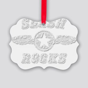 SLASH ROCKS Picture Ornament
