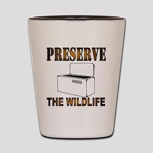 Preserve The Wildlife Shot Glass