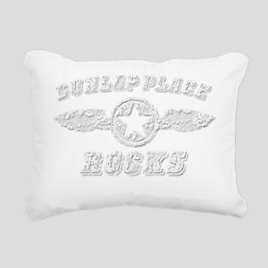 DUNLAP PLACE ROCKS Rectangular Canvas Pillow