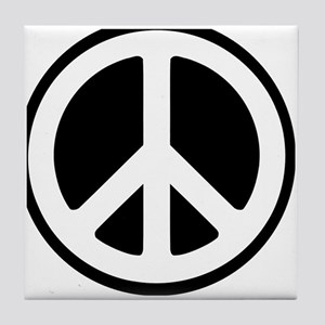World Peace Symbol Tile Coaster