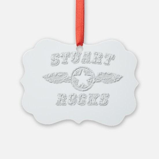 STUART ROCKS Ornament