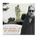 Music of JD Warrick Tile Coaster