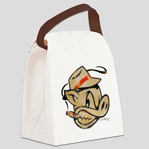 Smokin Pig by Elliott Mattice Canvas Lunch Bag
