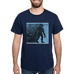 Bigfoot Sasquatch Yeti Dark Men's T-Shirt