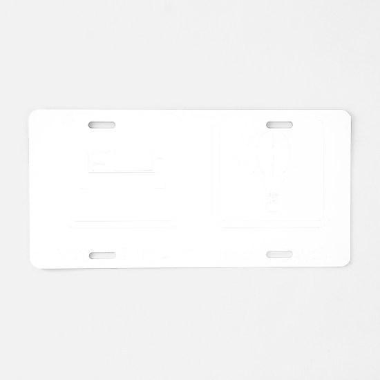 Ballooning-ABL2 Aluminum License Plate