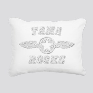 TAMA ROCKS Rectangular Canvas Pillow