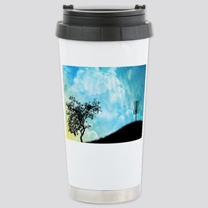 Basket On A Hill #2 Stainless Steel Travel Mug
