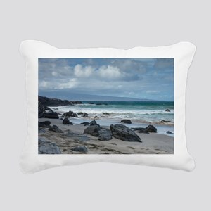 16x10 Hawaii Maui Rectangular Canvas Pillow