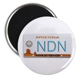 Navajo Nation NDN plate Magnet