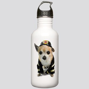 Firefighter Chihuahua Stainless Water Bottle 1.0L
