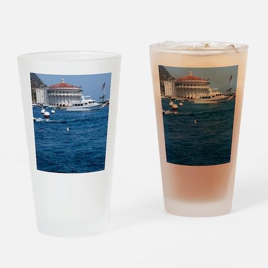 Avalon Harbor Catalina Island Drinking Glass