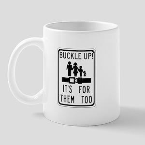 Buckle Up! Mug