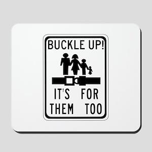 Buckle Up! Mousepad