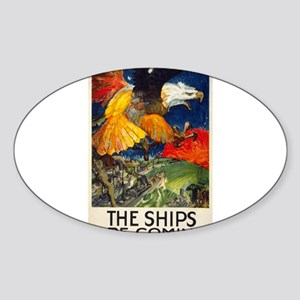 The Ships Are Coming - James Daugherty - 1917 - Po