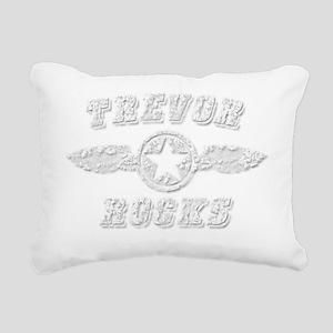 TREVOR ROCKS Rectangular Canvas Pillow