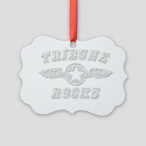 TRIBUNE ROCKS Picture Ornament