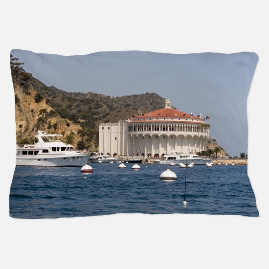 Avalon Harbor Catalina Island Pillow Case