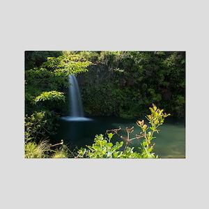 16x10 Hawaii Road to Hana Rectangle Magnet