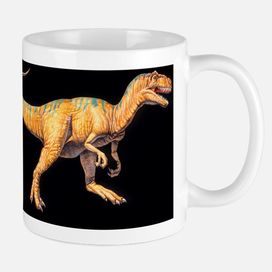 Artwork of an Allosaurus dinosaur, Allo Mug