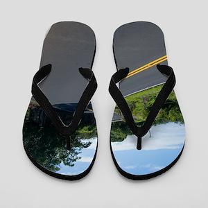 16x10 Hawaii Road to Hana Flip Flops