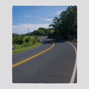 16x10 Hawaii Road to Hana Throw Blanket