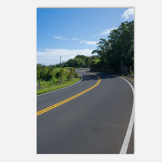 16x10 Hawaii Road to Hana Postcards (Package of 8)